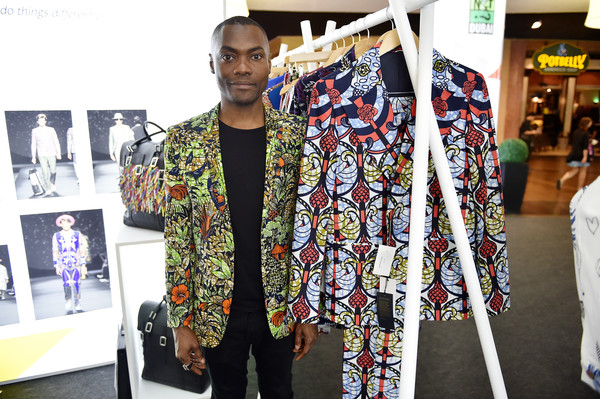 "Alexis Temomanin  The London-based Dent de Man brand, established by Ivorian Alexis Temomanin in 2012, produces contemporary, tailored, and cutting-edge menswear made with prints that reflect ""a bold personality and avant-garde lifestyle for the citizen of the world."" The brand was named after the Dent de Man Mountain near the city of Man, Côte d'Ivoire, which is known for its colorful flora and fauna. Temomanin handpicks each print design for its resonance with personal meaning and memory. He notes, ""My passion for traditional textiles and the creation of Dent de Man came from my past.… The prints have always been an escape to a better world.… For this reason, each print has its own story and deep significance."""