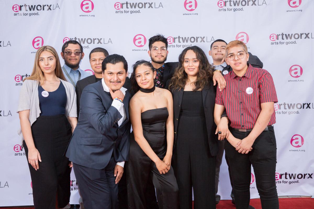 artworxLA students