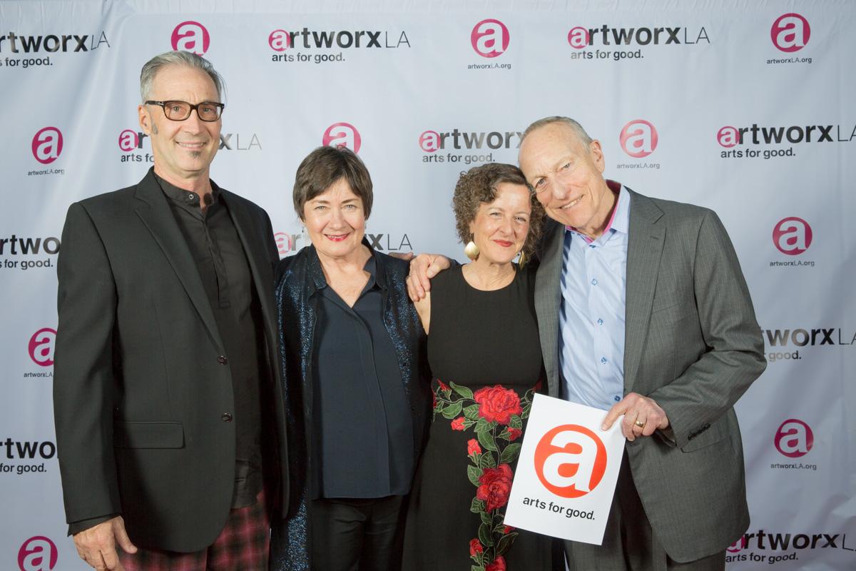 Brian Brophy, Jane Olson, Cynthia Campoy Brophy, Ron Olson