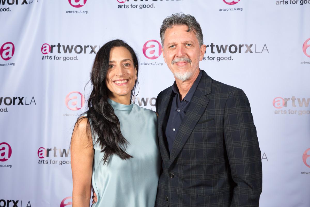 Tim Kring and Lisa Kring