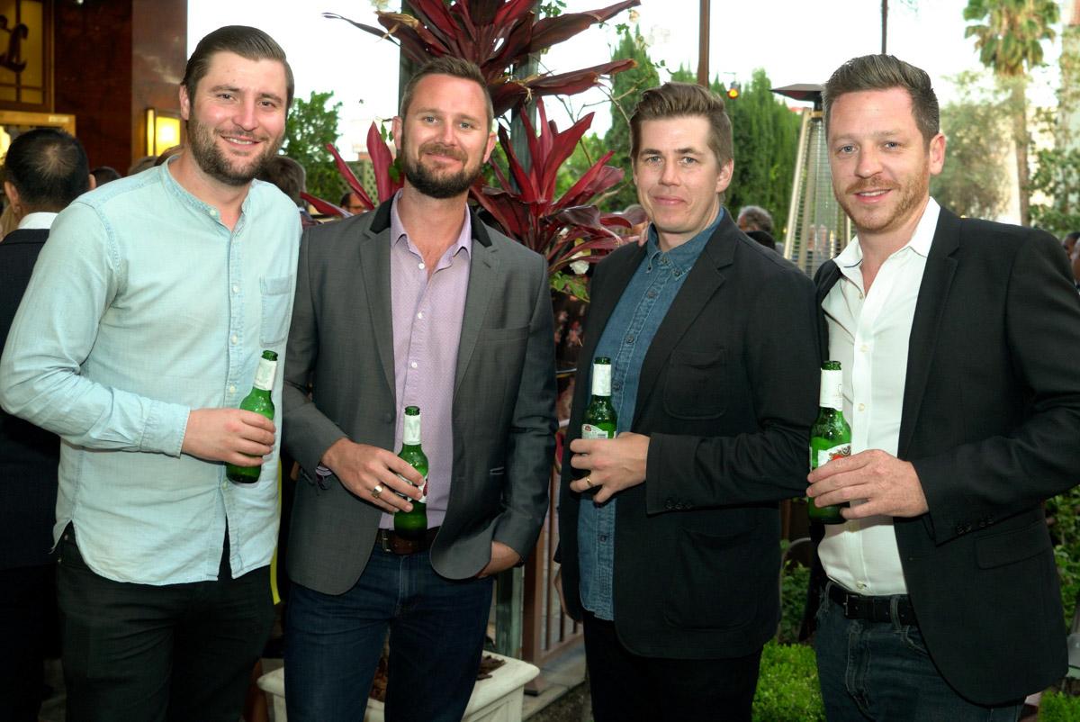Al Caren, Mick Unwin, Andrew Hurley, Neil Cox