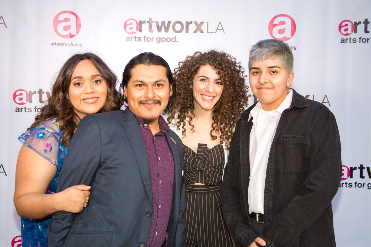 Blanca Martinez, Alfredo Alvarado, Caroline Ashkar, Ceci Flores