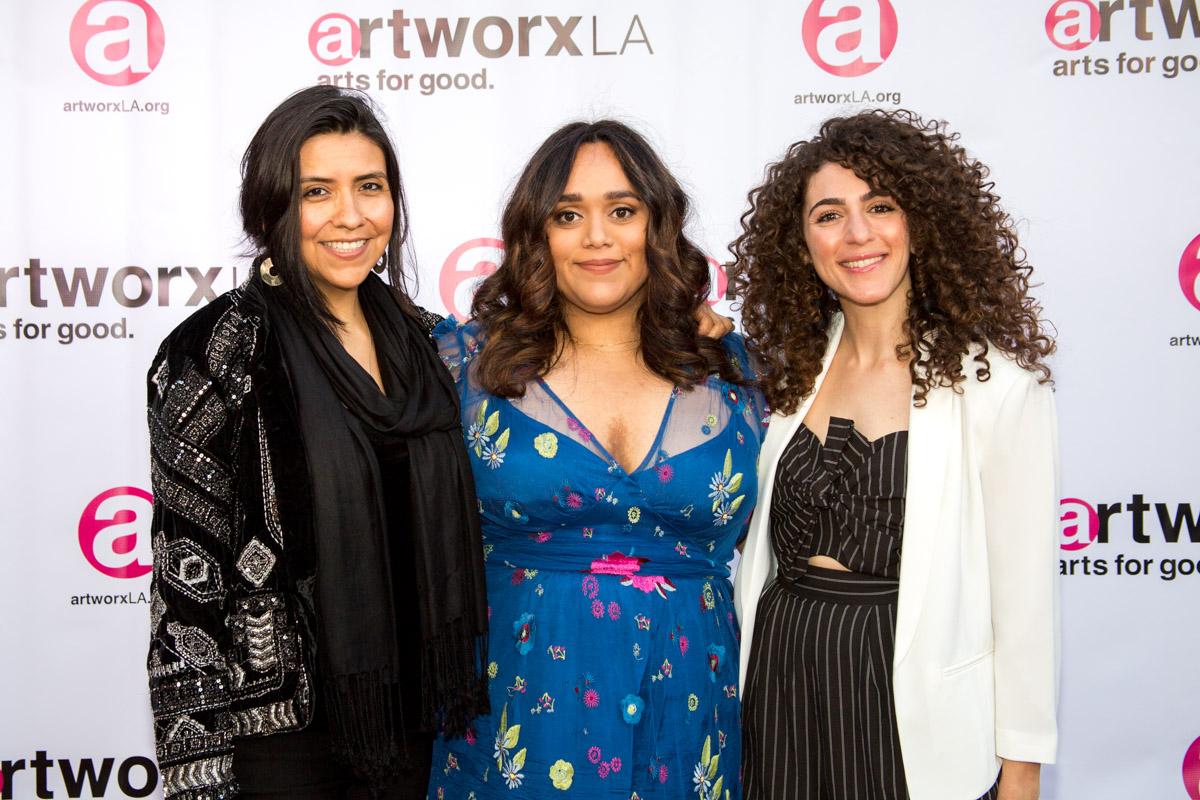 Lluvia Higuera, Blanca Martinez, Caroline Ashkar