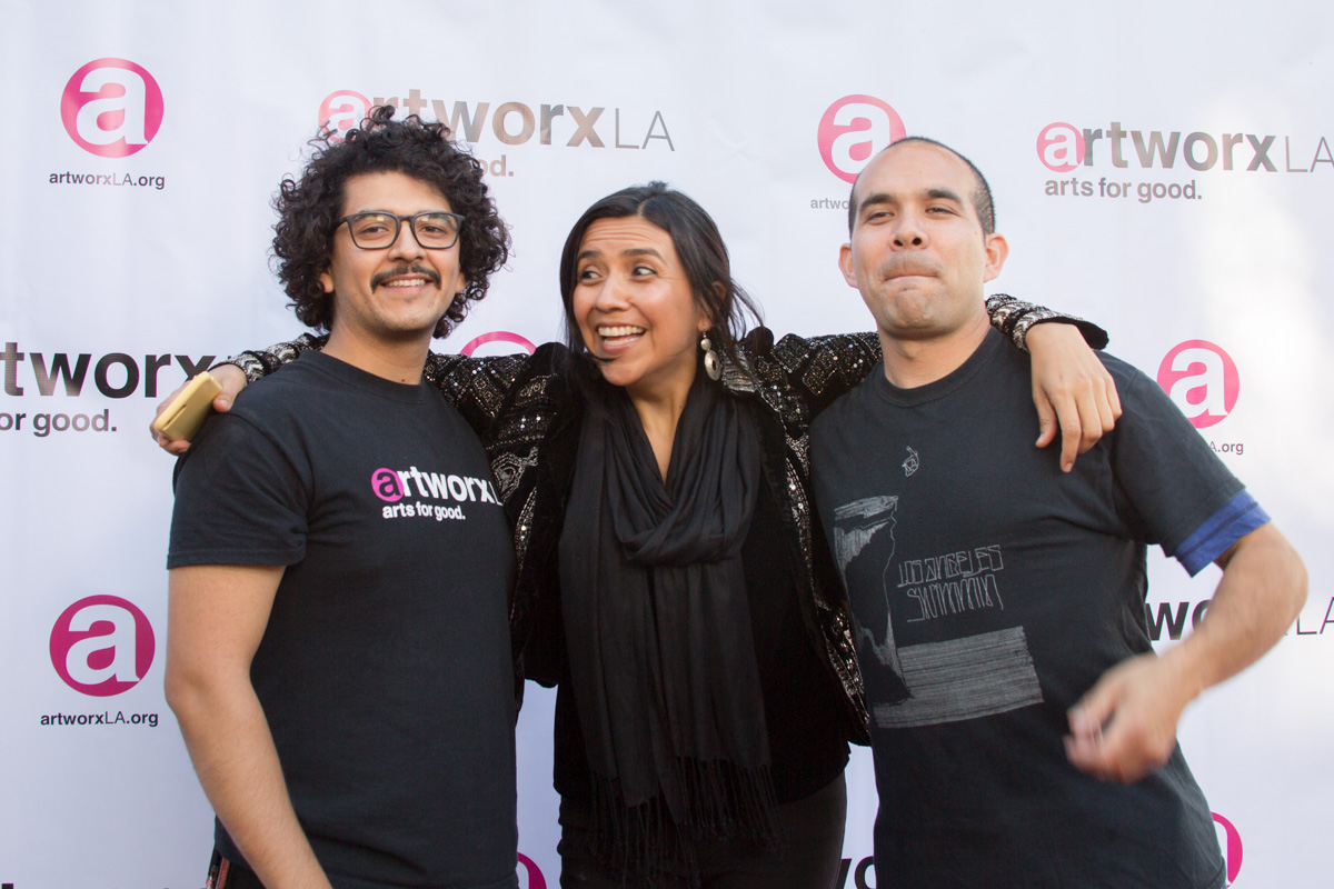 Jose Sanchez, Lluvia Higuera, Michael Alvarez
