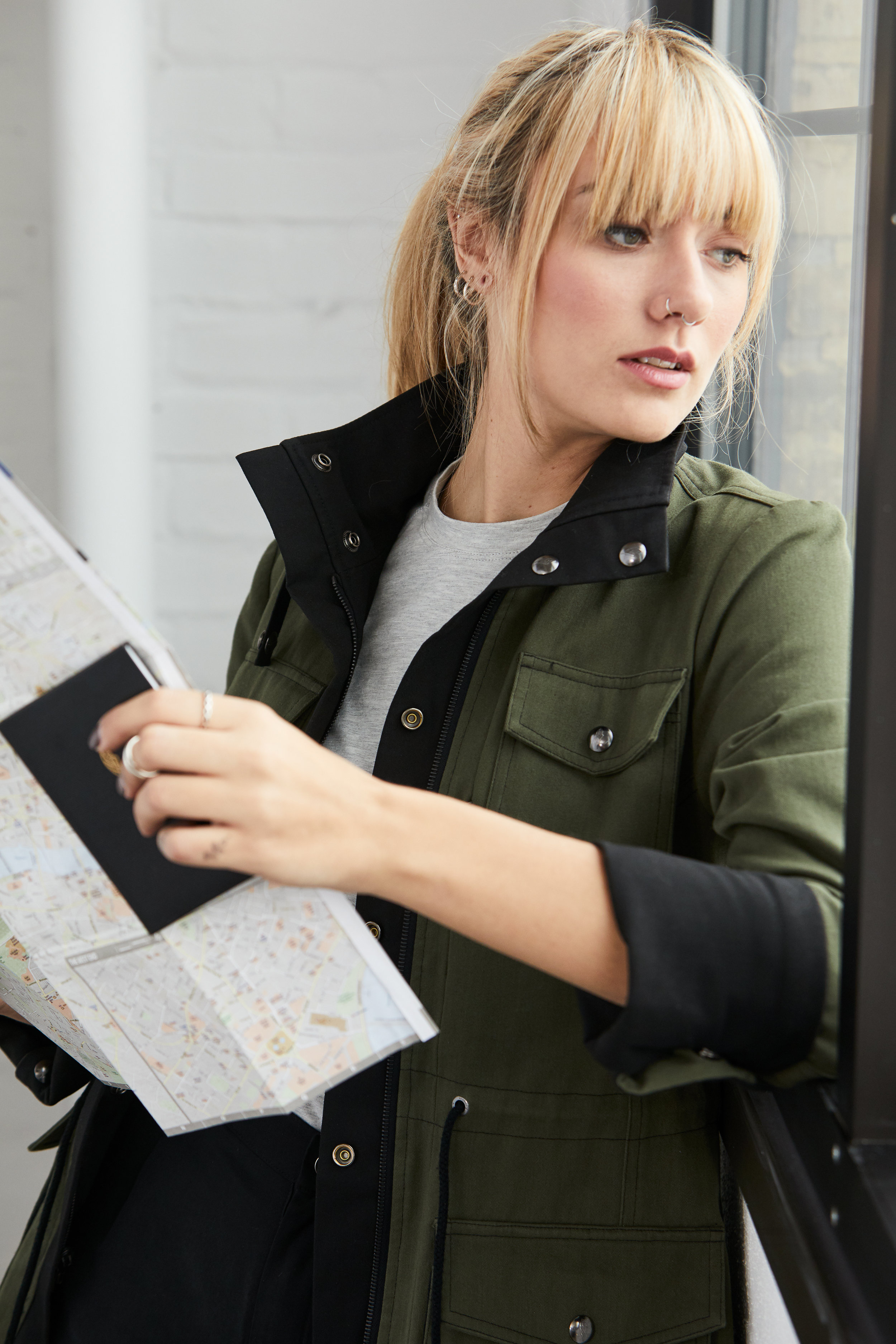 Anywhere Apparel travel jacket campaign product image shot by Watt Second ecommerce photography
