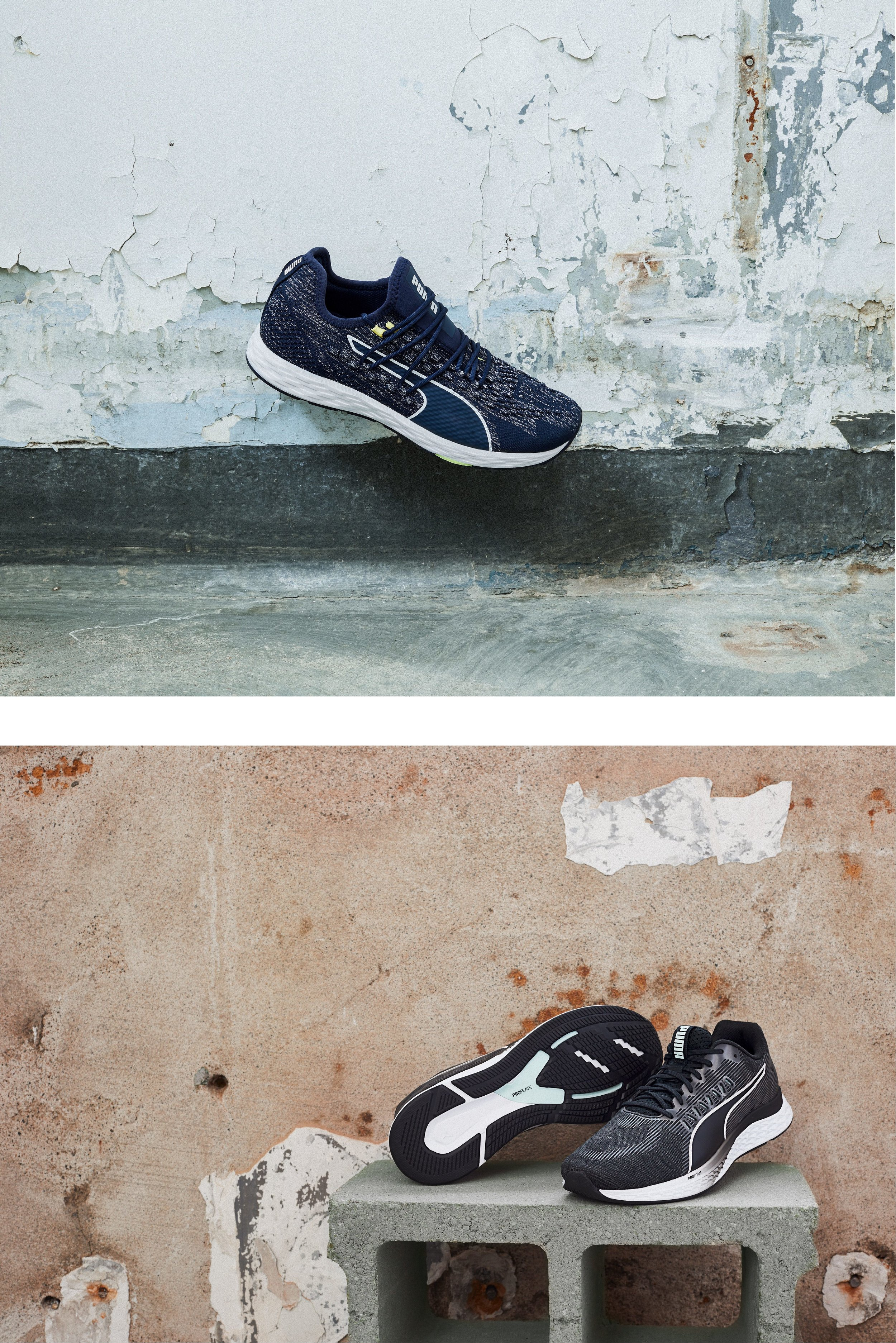 Puma styled product images | Latitude Creative | Styled by Emily Baynard and Photographed by Roo Way