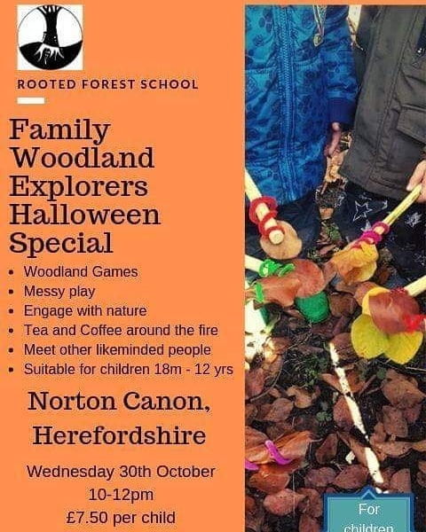 Halloween special for our Rooted Forest School Fans!  Click the link to book online 💻 to get outside 🍁🐛🐌🐲 https://bookwhen.com/rootedforyoungpeople?fbclid=IwAR2d5VkC7y9iBJy56BihCdEkZRIw6p7xet7_0St-ayHVZtwpf-1ZNqv5Wos#focus=ev-s83w-20191030100000