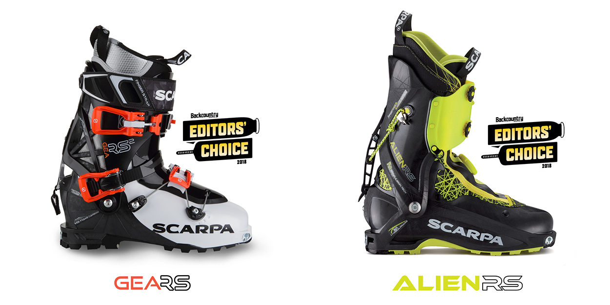 From the largest set of boots Backcountry Magazine has ever tested, the Alien RS and GE RS stood out and received Editor's Choice Awards. Click on the link below for more details.