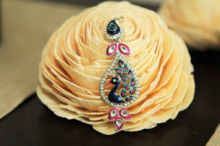 Our Bestseller 'Peacock' Earrings