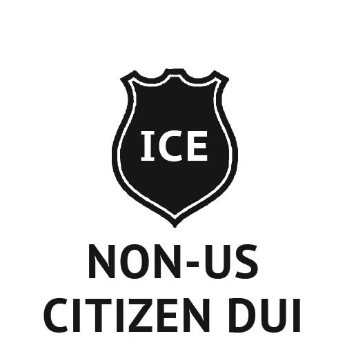 DUI immigration consequences for non-us citizens, H1B F1 visa holders, permanent residents and green card holders