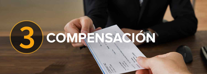 (3) Los Defensores abogados de accidentes luchan para obtener una fuerte compensaci贸n por sus lesiones, dolor y sufrimiento.