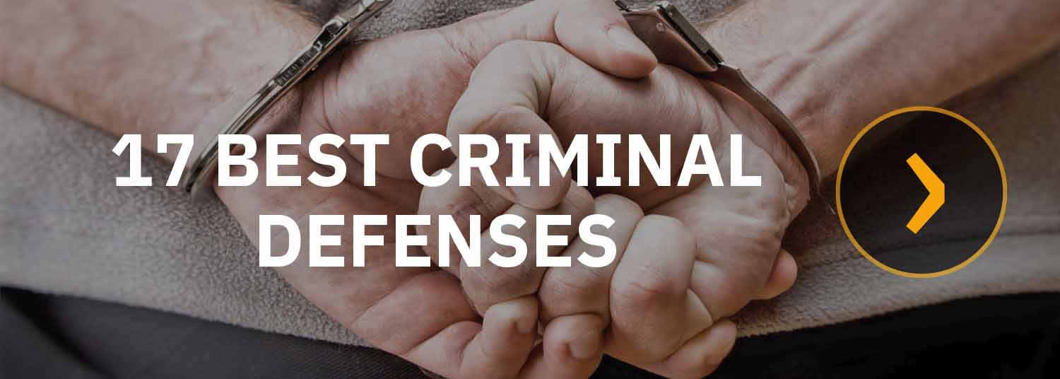 Chudnovsky Law's expert Orange County criminal lawyer reviews 17 of the best criminal defense attorney strategies.  Tapping their combined 60 years experience handling 8,000 cases and court jury trials, our attorneys show how to fight misdemeanor and felony criminal charges of all kinds including: theft crimes, sex crimes, drug crimes, domestic violence, weapons charges, assault, battery, homicide and federal crimes.