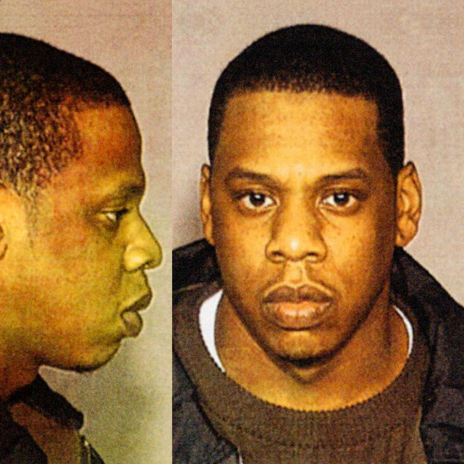 "Shawn Corey Carter, aka ""Jay-Z"", 1999   Jay-Z was arrested by New York City police in December 1999 for allegedly stabbing record producer Lance ""Un"" Rivera at New York's Kit Kat Club. He was charged with felony assault and could have faced a 15 year prison sentence. Jay-Z later  plead guilty  to a reduced charge of misdemeanor assault and was sentenced to three years probation."