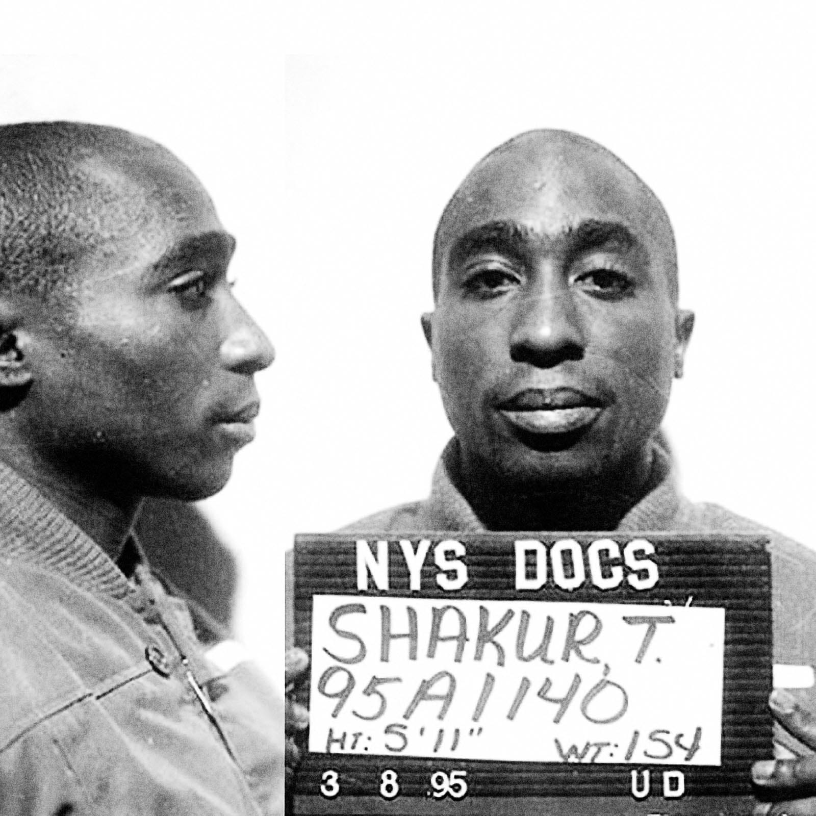 "Tupac Amaru Shakur, aka ""2Pac"" and ""Makaveli"", 1993    Tupac Shakur was arrested  for sexually assaulting a 19 year old woman he met at a New York nightclub along with three of his friends. He was sentenced to 4 and a half years in prison but received an early release after serving only 9 months in Clinton Correctional Facility. Shakur was later shot and killed in September 1996. The murder was never officially solved."
