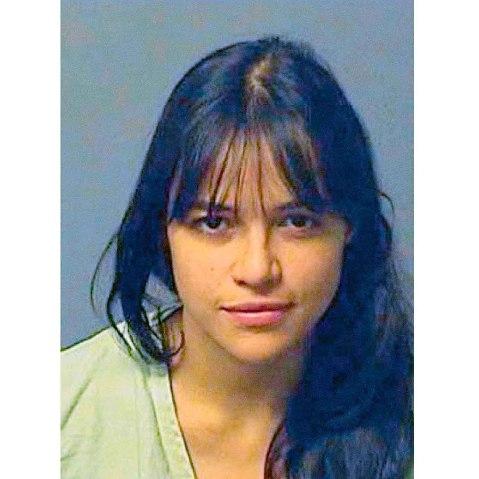 Michelle Rodriguez, 2007   Mayte Michelle Rodriguez is photographed here in 2007 as she enters the Los Angeles County jail to serve a 6 month sentence for violating probation terms for three previous drunken driving and hit and run offenses in 2004.  Rodriguez was found  to have consumed alcohol on 3 occasions while wearing a monitoring ankle bracelet and also not meeting other terms.