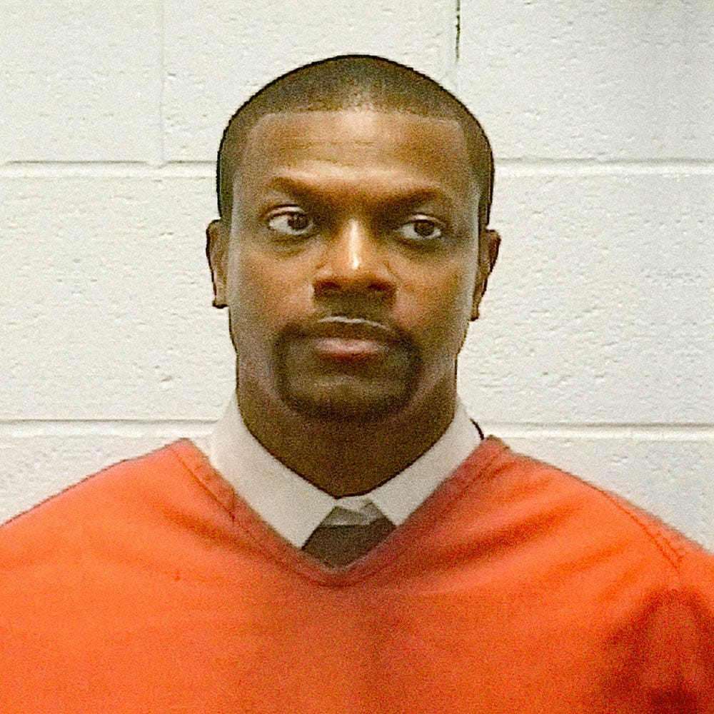"Christopher Tucker, aka ""Chris Tucker"", 2005    Chris Tucker was arrested  in Georgia in April 2005 for reckless driving. Tucker was driving his Bentley at 109 mph when police attempted to pull him over. The pursuit lasted 10 miles before he stopped. Tucked pleaded guilty to speeding and eluding police and paid a fine of $6,999."