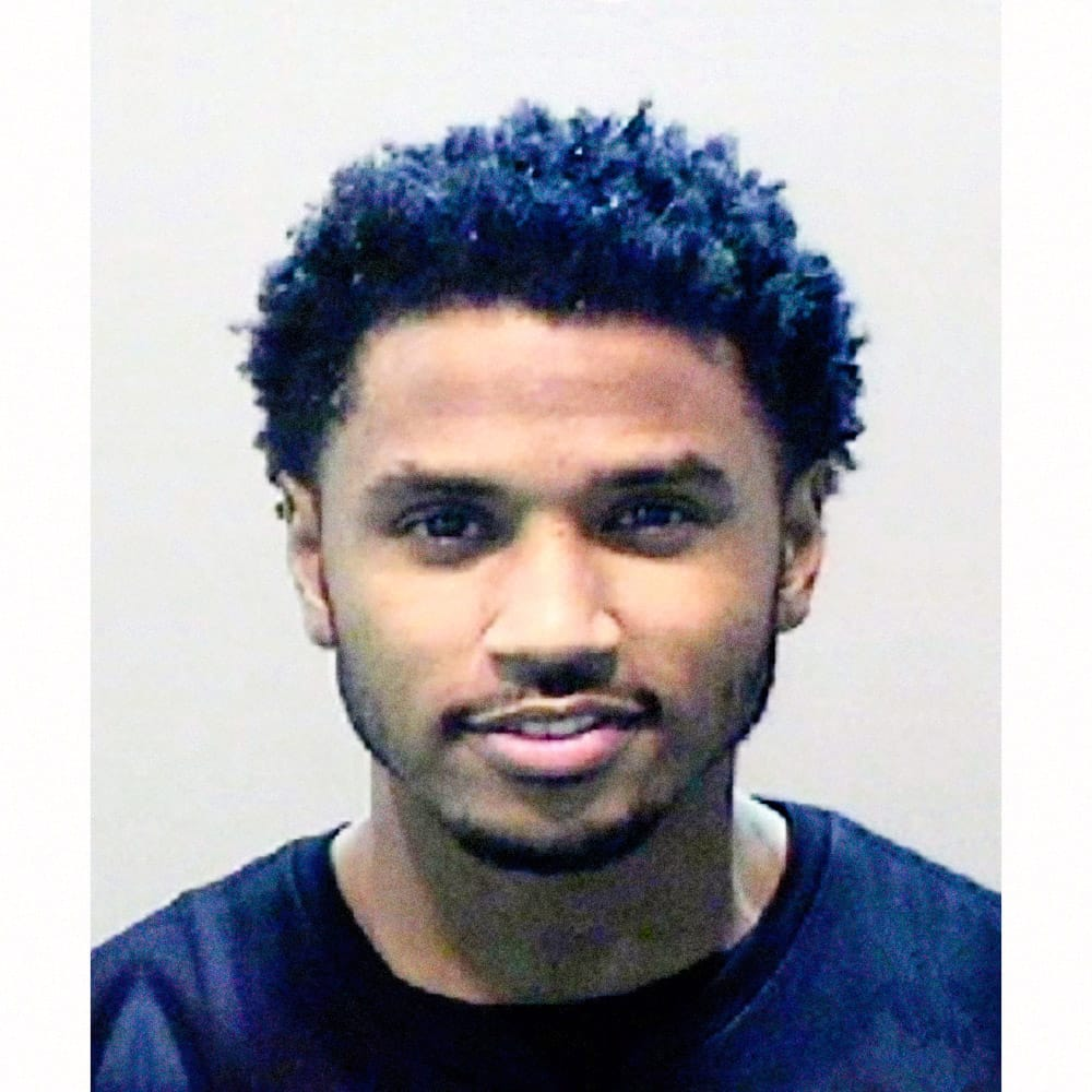 "Tremaine Neverson, aka ""Trey Songz"", 2016   Singer Trey Songz was arrested in Detroit in 2016 for aggravated assault and resisting and obstructing a police officer. Songz refused to leave the stage when his time was up during his performance at Joe Louis Arena. He became belligerent and angry, throwing speakers and microphones from the stage.  Songz pleaded guilty  to two misdemeanor counts of disturbing the public and was sentenced to 18 months probation, anger management classes, substance abuse screenings and he had to pay restitution."