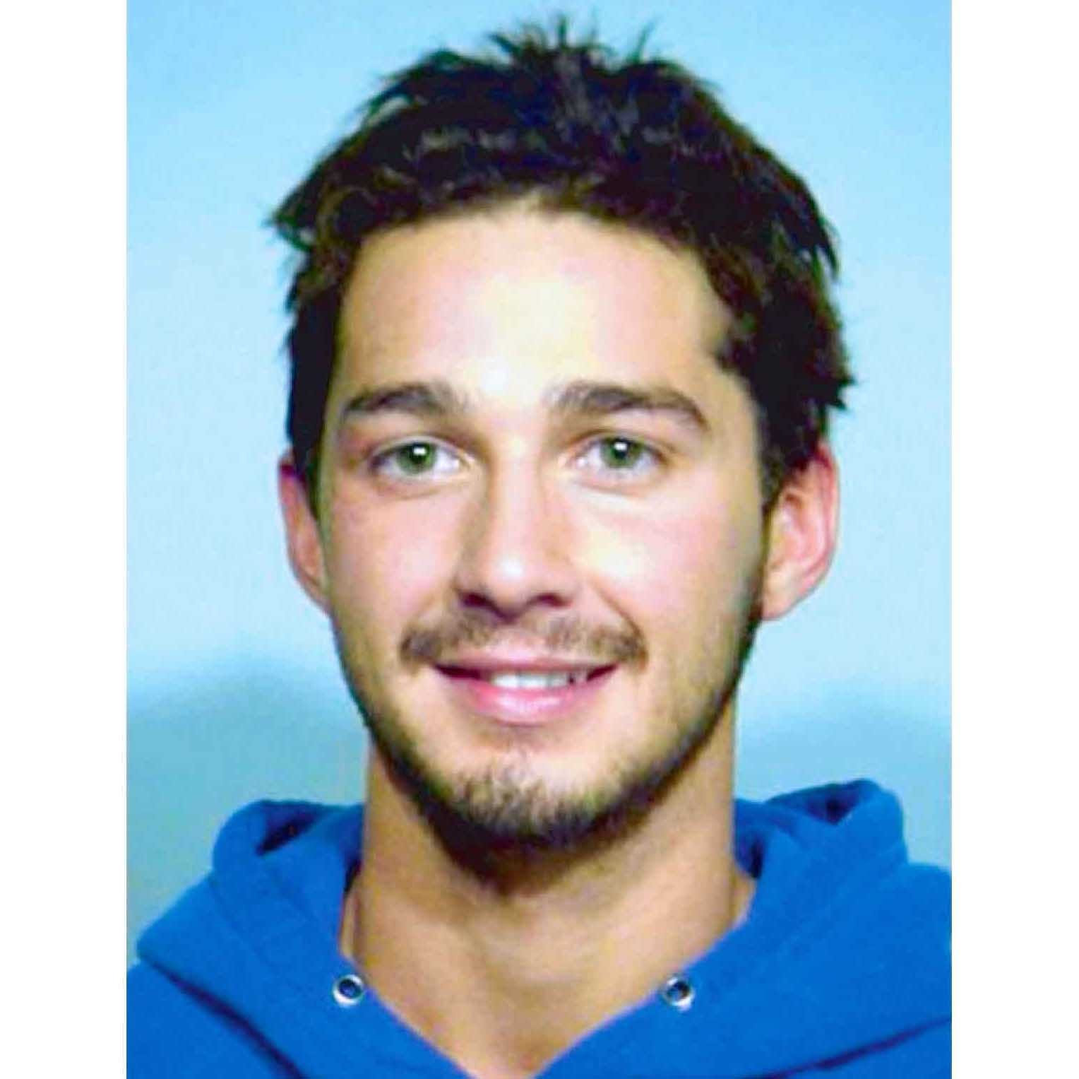 "Shia LeBeouf, 2007   According to LeBeouf's essay ""Error Breeds Sense"" he has been incarcerated five times, starting with a shop-lifting arrest at age 9 for taking Nike Cortezes from a store. In this mugshot, LaBeouf was arrested in Chicago, Illinois in 2007 for misdemeanor trespassing.  He visited a Walgreens  many times in one night in a drunken state and refused to leave after several requests by security. Charges were later dropped."