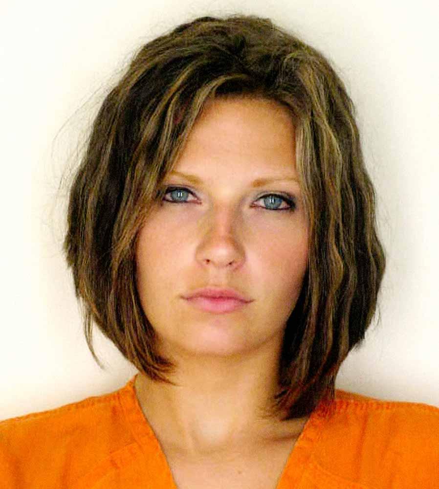 """33. Meagan McCullough Mugshot, aka """"Attractive Convict"""", 2010"""