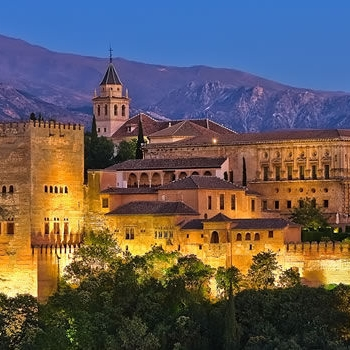 Granada    Home of the  Alhambra  and the  Albaicín , a UNESCO World Heritage Sight, Granada is a captivating city with a long and rich flamenco tradition from the caves of the  Sacromonte  that continues to this day.