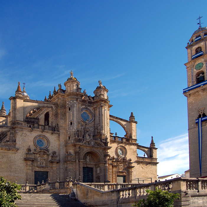 Jerez de la Frontera    World renowned for its sherry production and its equestrian tradition, this formidable city also has a vibrant flamenco heritage that is showcased annually during the  Festival de Jerez  and throughout the year.