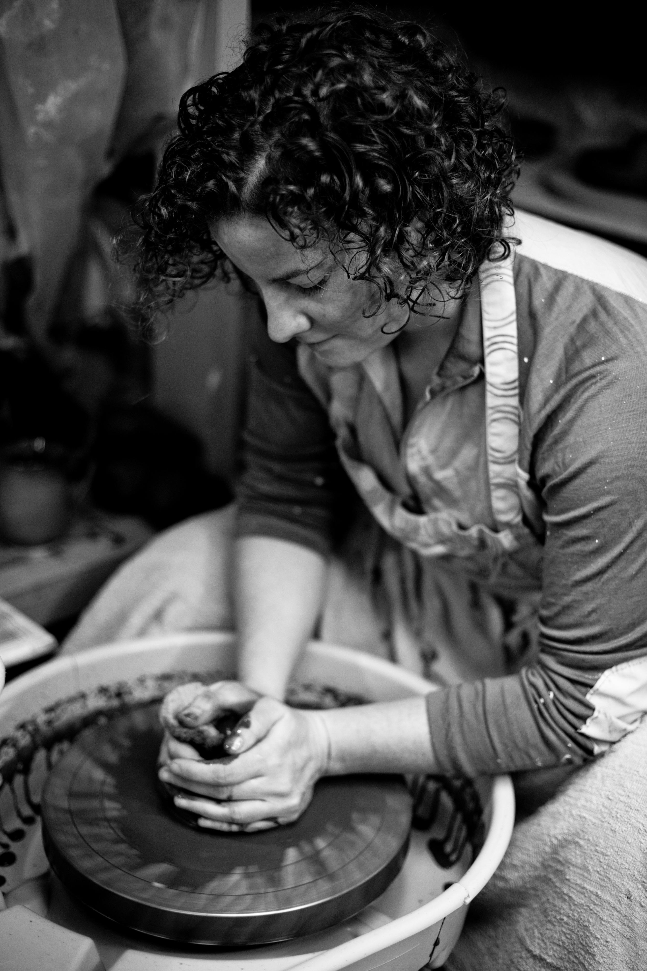 Come and try your hand at throwing pottery on the wheel. You will received personalized support to help you grow in your competency as a pottery. Plus you'll have a lot of fun and meet great new people.