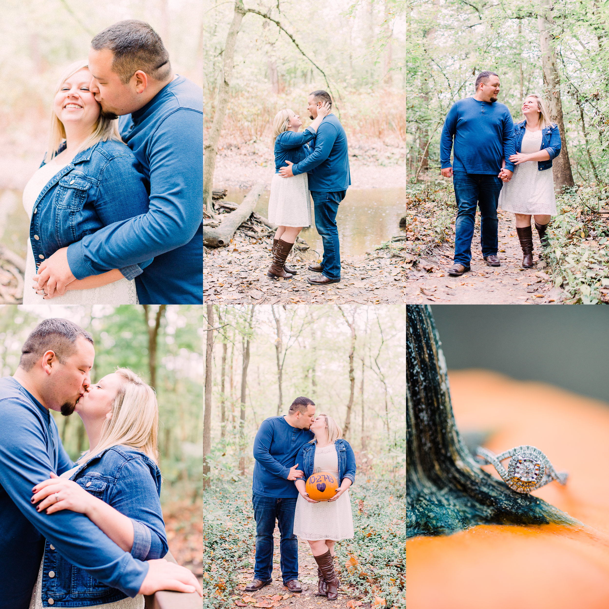 Fall Engagement Session with Pumpkins | Katerina Marie | Fine Art Indianapolis Destination Wedding Photographer