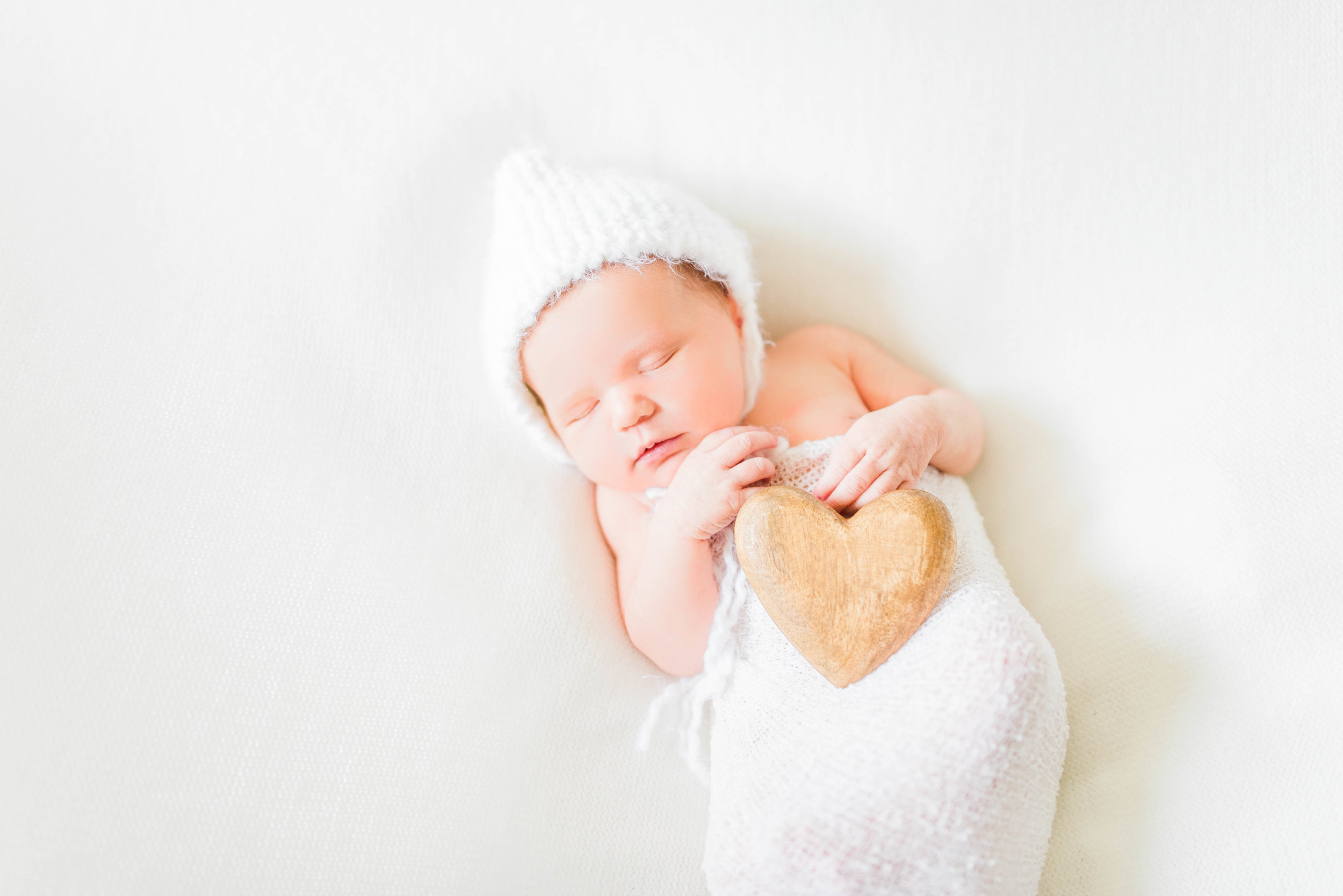 Paige | Farm Fresh Newborn Photography Session | Noblesville, IN