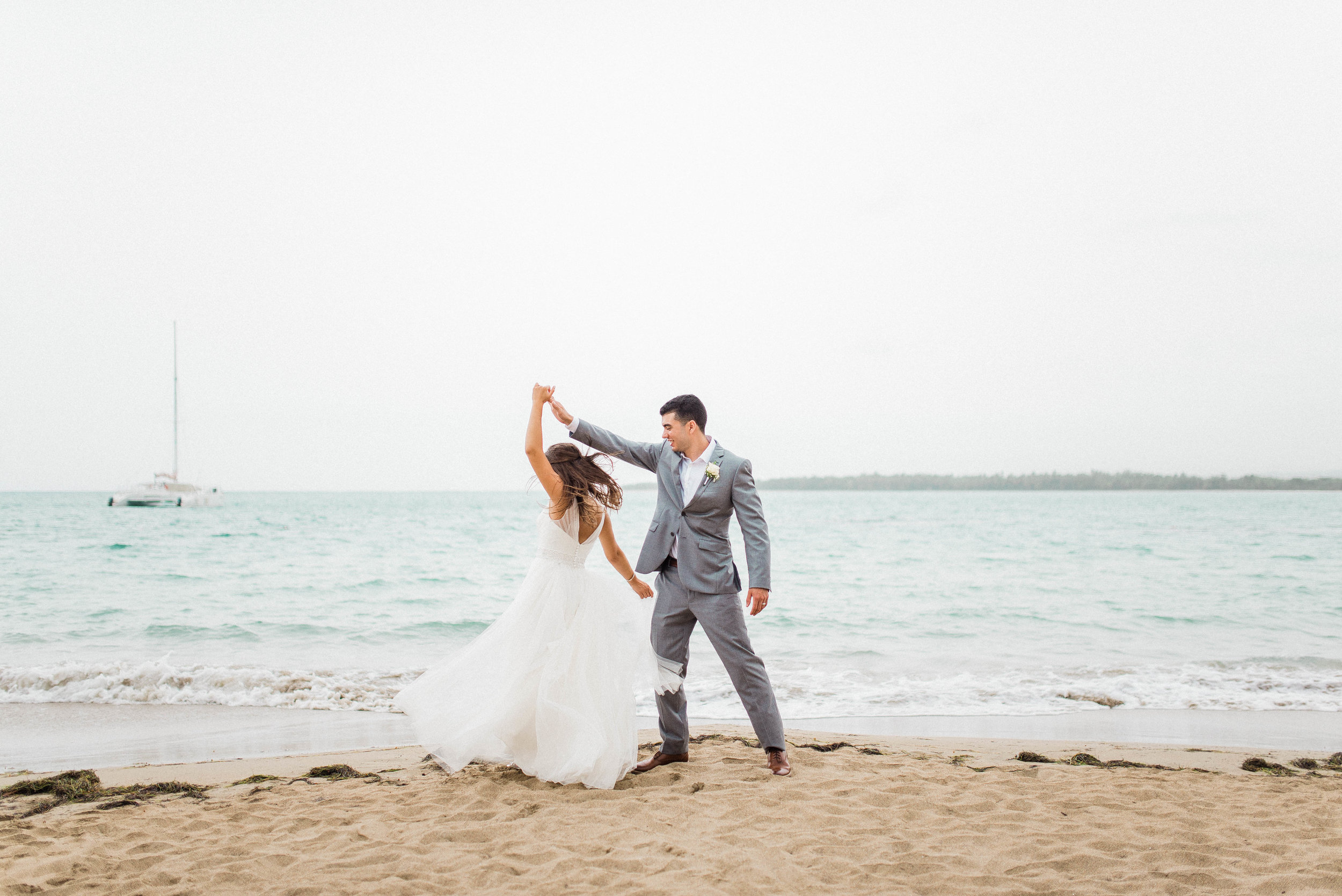 Michaella + Javi | Romantic Bilingual Catholic Mass & Oceanside Fiesta on the Beach in Puerto Plata, Dominican Republic | Indianapolis Elopement & International Destination Wedding Photographers
