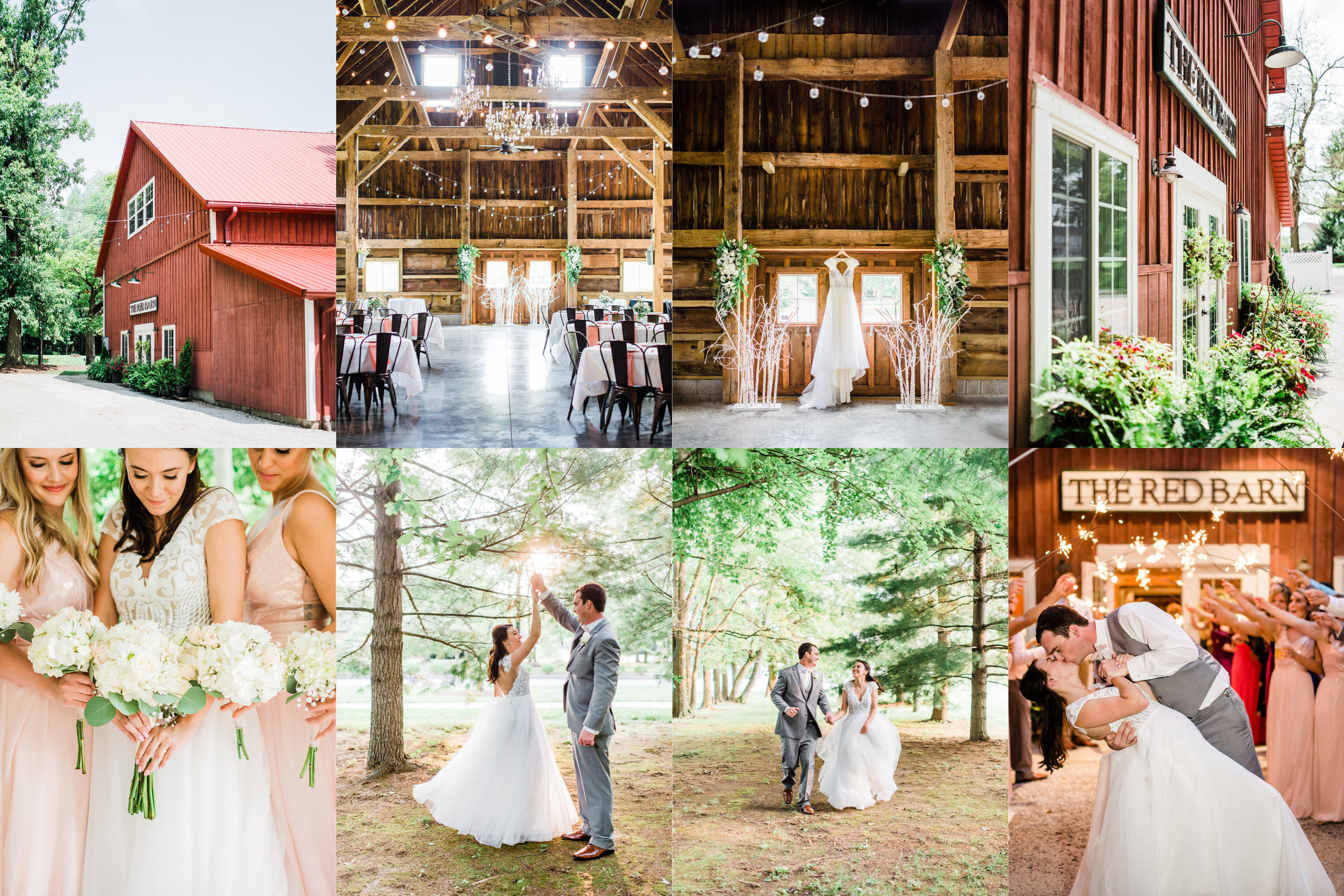 "Casey + Alan | Romantic Summer Wedding on ""Air Show Day"" 