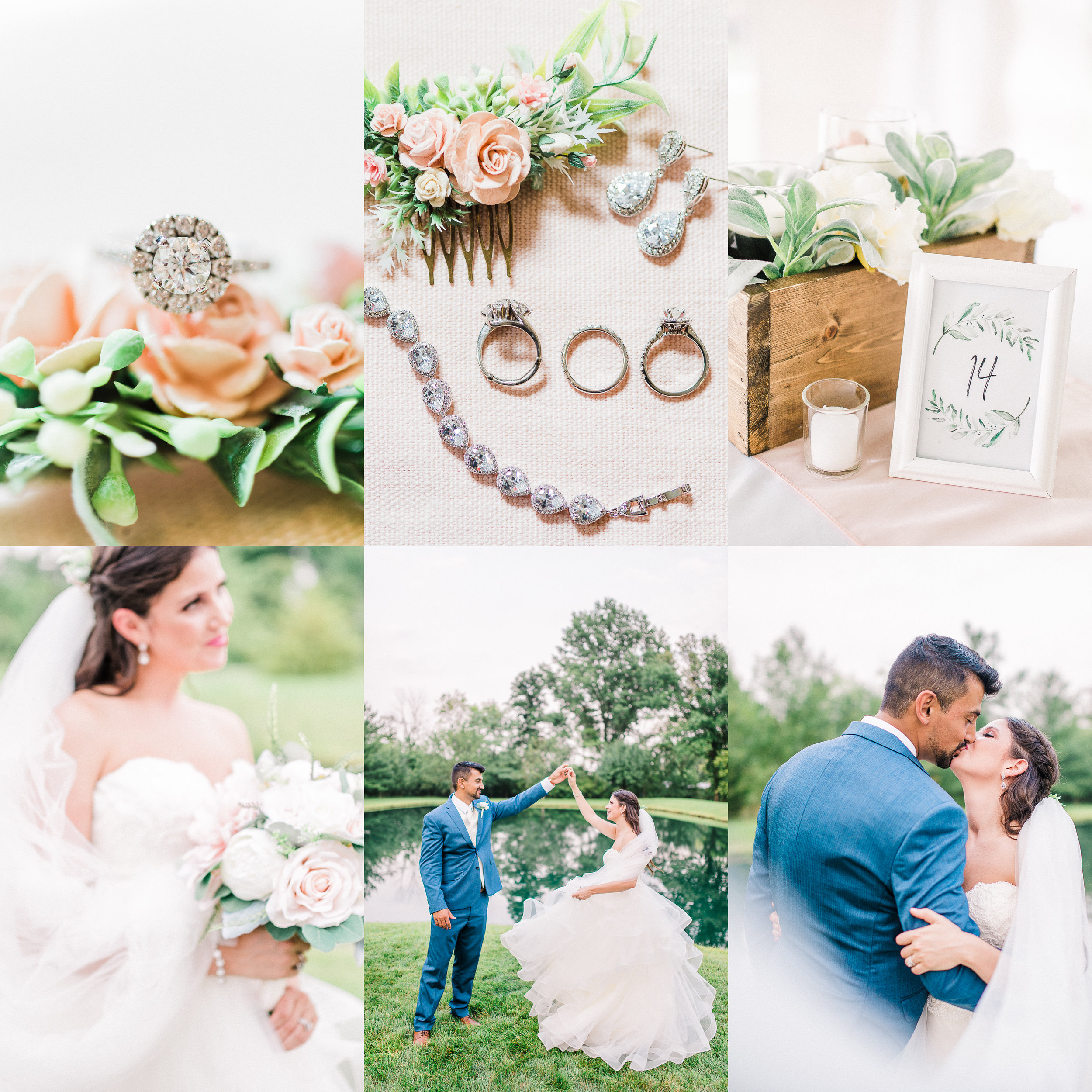 Michele + Jonah | Romantic Backyard Wedding to Celebrate Happily Ever Afters | Indianapolis Elopement & Destination Wedding Photographers