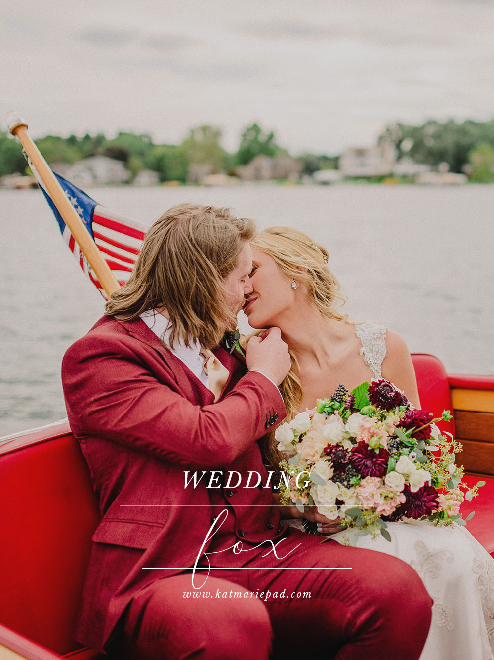 Audrey + Ben | Stunning Lakeside Wedding with All the Mamma Mia Two Feels | Lake James, Angola, IN | Indianapolis Based International Elopement & Destination Wedding Photographers