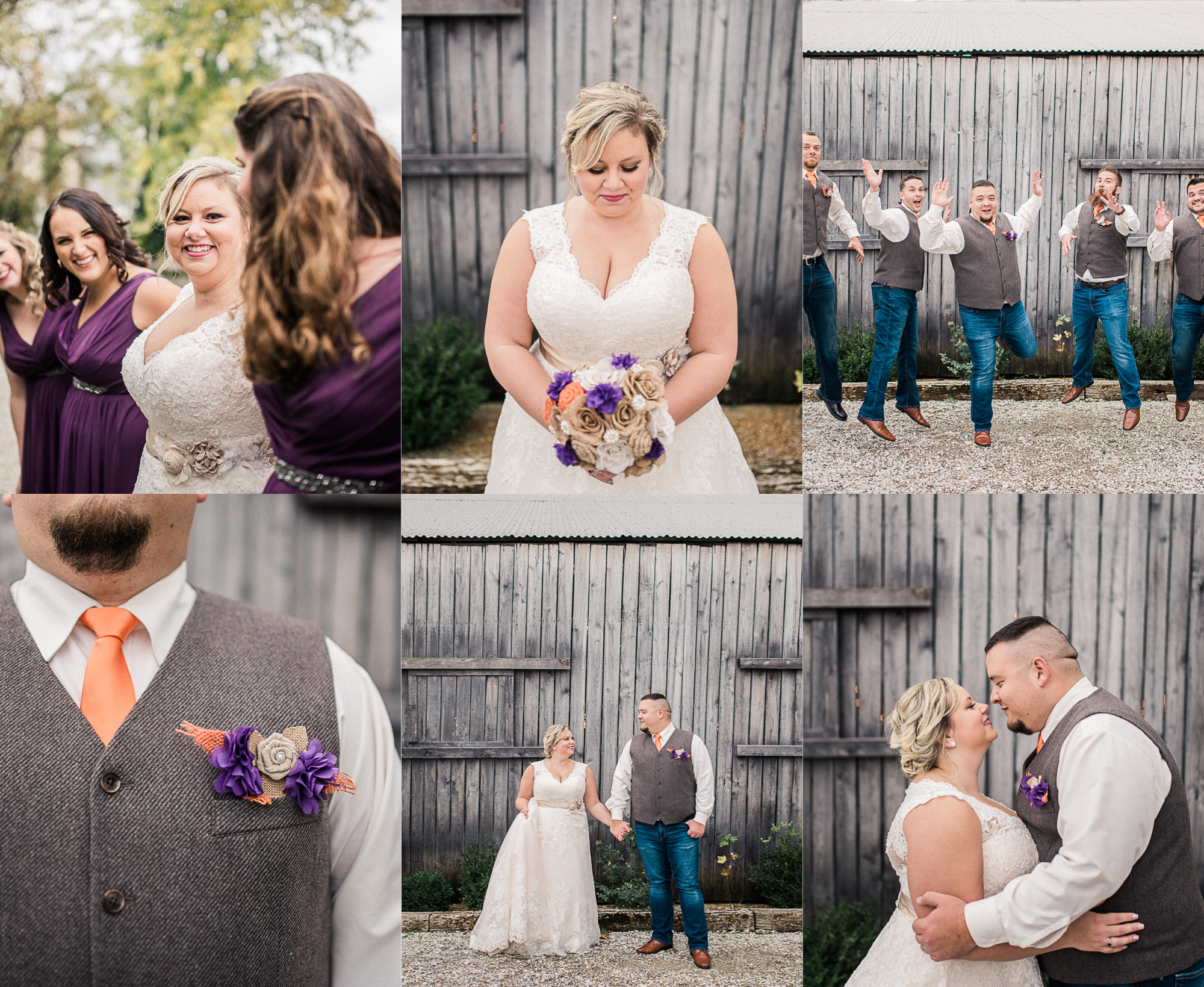 Danica + Will | Fall Wedding at a Rustic Barn in Coatesville, IN | Indianapolis Wedding Photographers