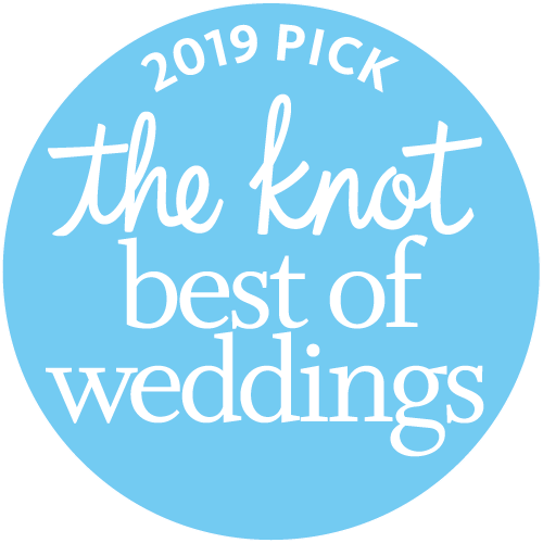 Katerina Marie Photography. Art. Designs. is a winner of The Knot's Best of Weddings award and a 2019 pick for top Indiana and destination wedding photographers!