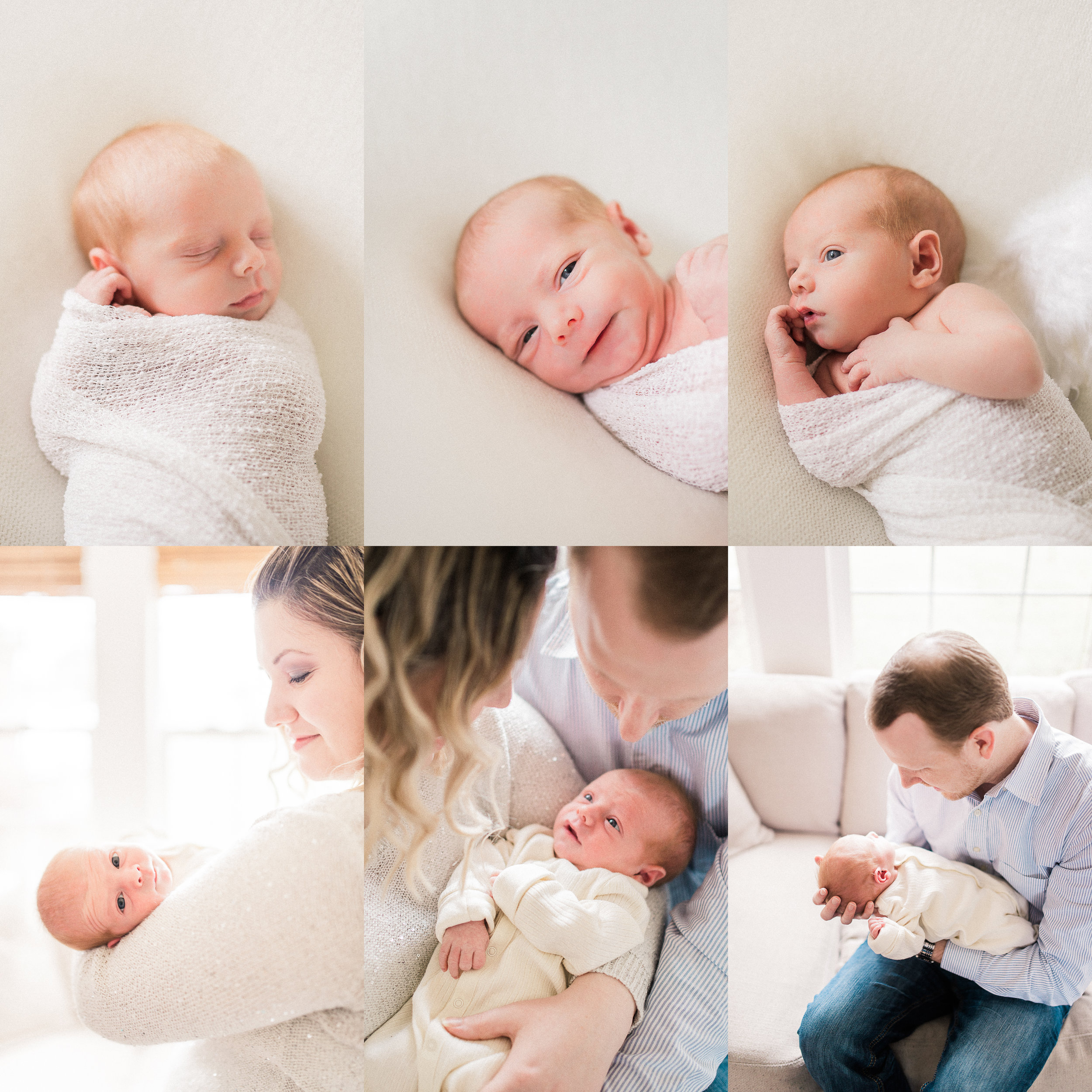 Christian | Handsome and Natural Newborn Photography | Noblesville, IN