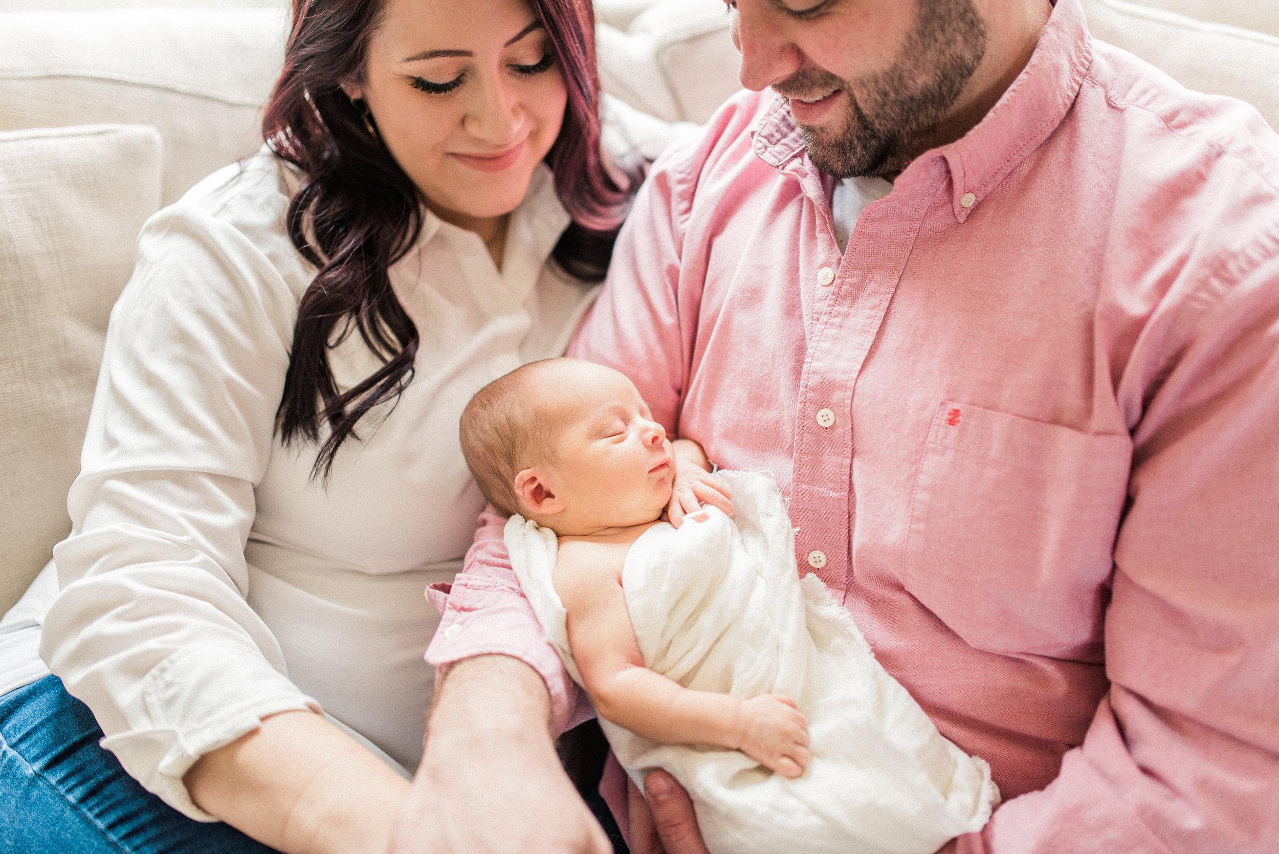 Brynna | Sentimental & Sweet Newborn Photography | Noblesville, IN