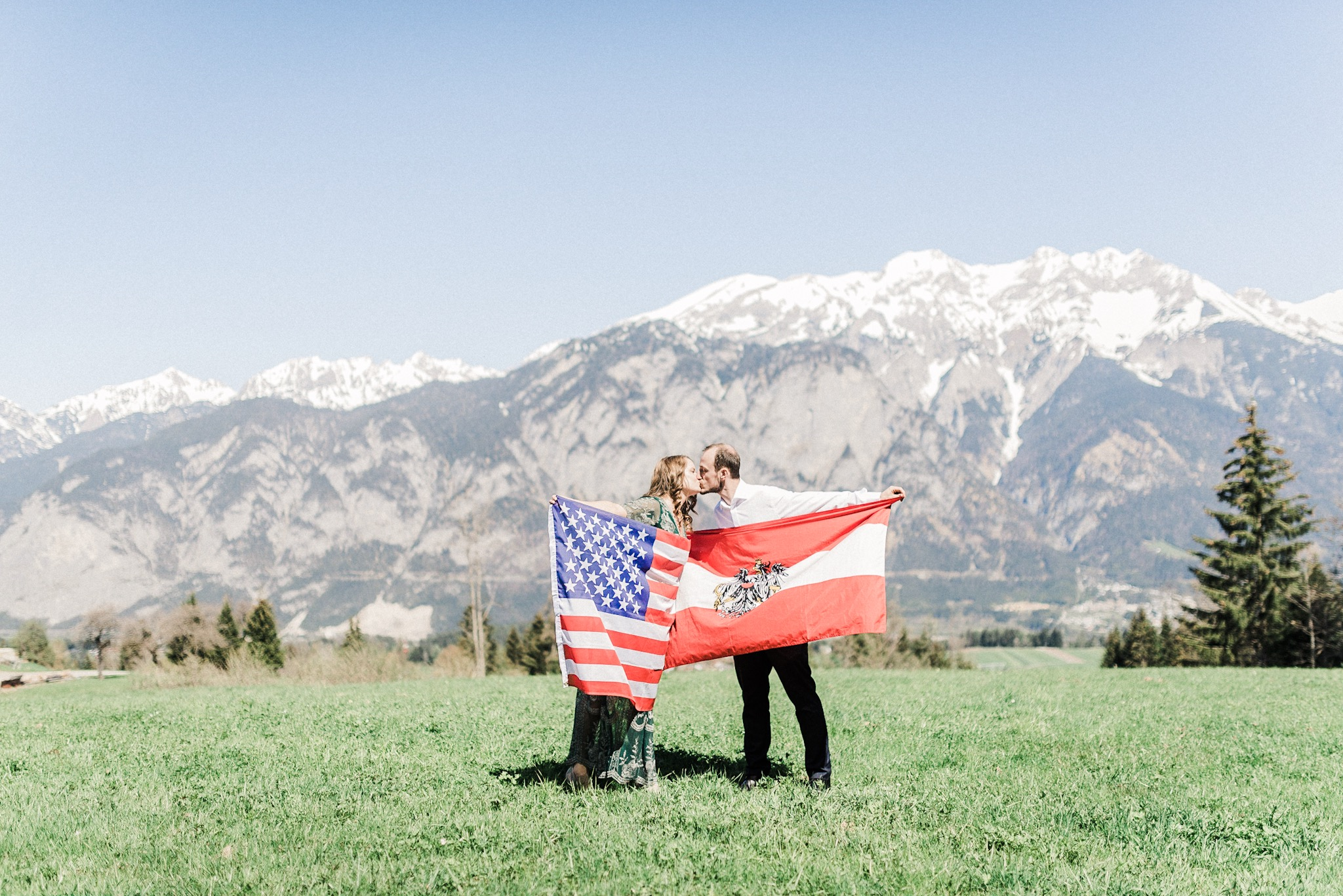 Adelia + Thomas | Part One: The Engagement | An Adventurous Destination Engagement Photography Session in the Alps | Innsbruck, Austria | Travel Wedding Photographers in Indianapolis