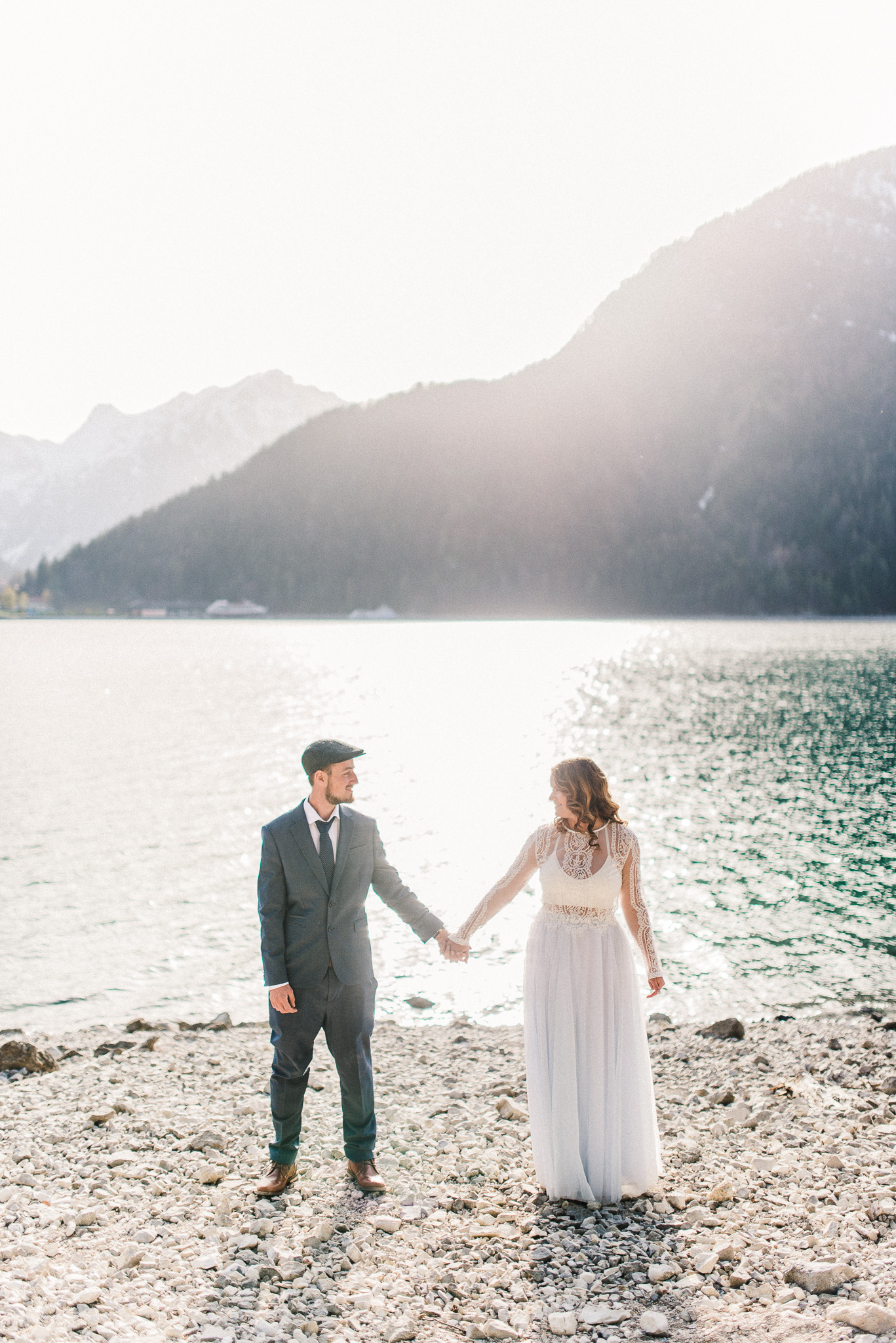 Adelia + Thomas | Part Two: The Elopement | Adventurous Destination Elopement Photography at Achensee in Tyrol & Innsbruck, Austria | Travel Wedding Photographers in Indianapolis