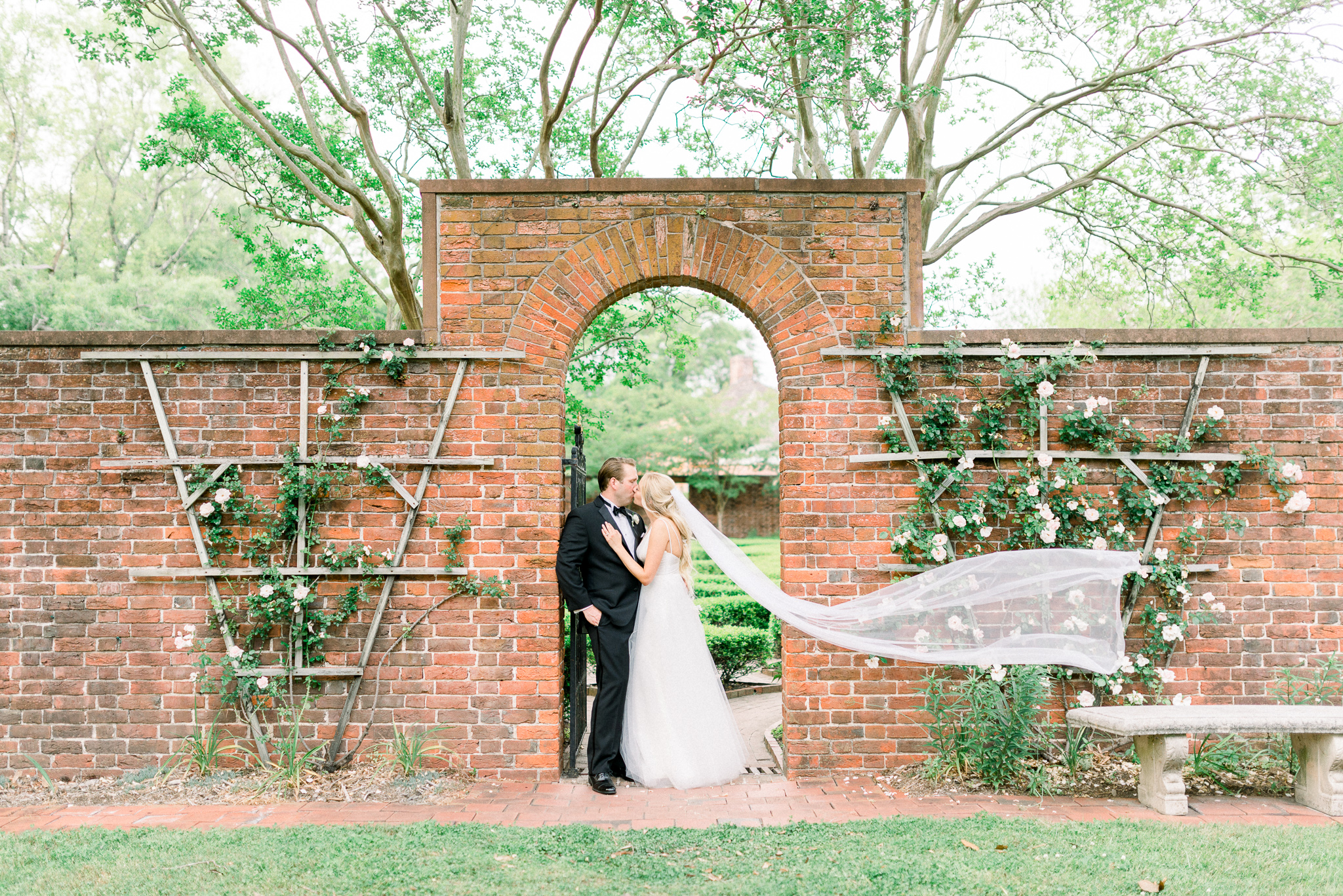 Megan + Kris | Elegant and Romantic Garden Soiree at Historic Tryon Palace in New Bern, North Carolina | Indianapolis Destination Wedding Photographers