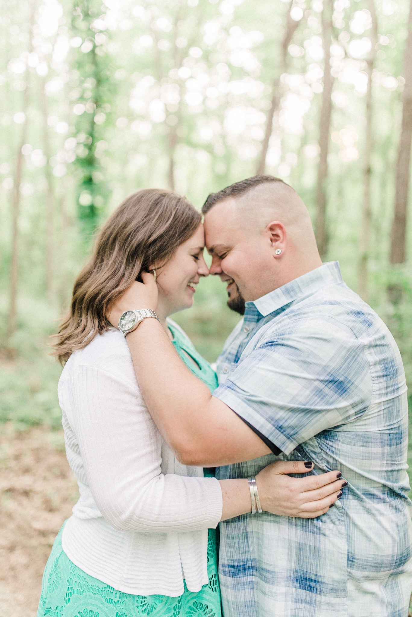 Colleen + Chris | Fun-Lovin' Engagement Photography Session in Carmel, IN | Indianapolis Wedding Photographers