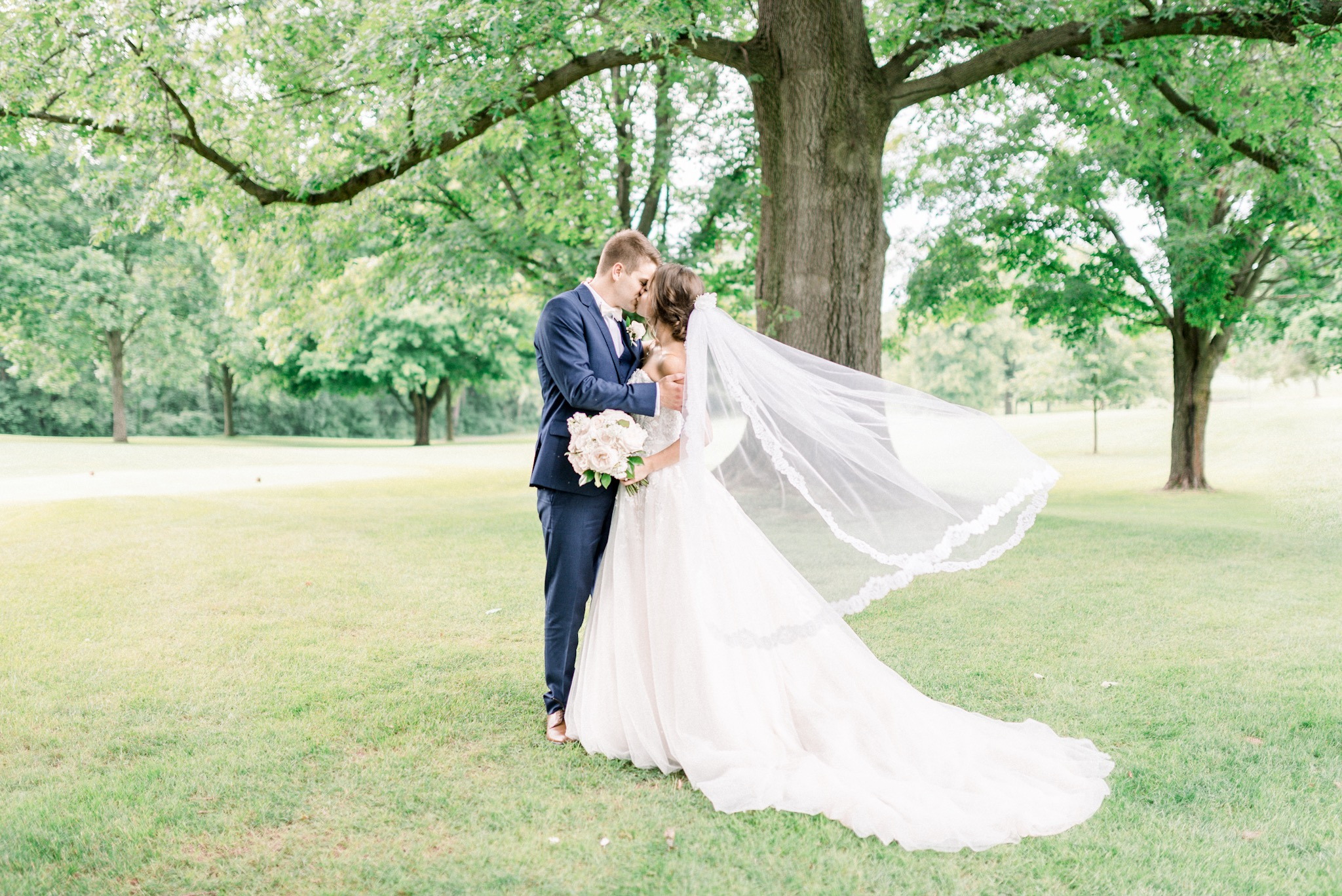 Sarah + Luke | An Elegant Lakeside Wedding in Warsaw | Indianapolis Destination Wedding Photographers