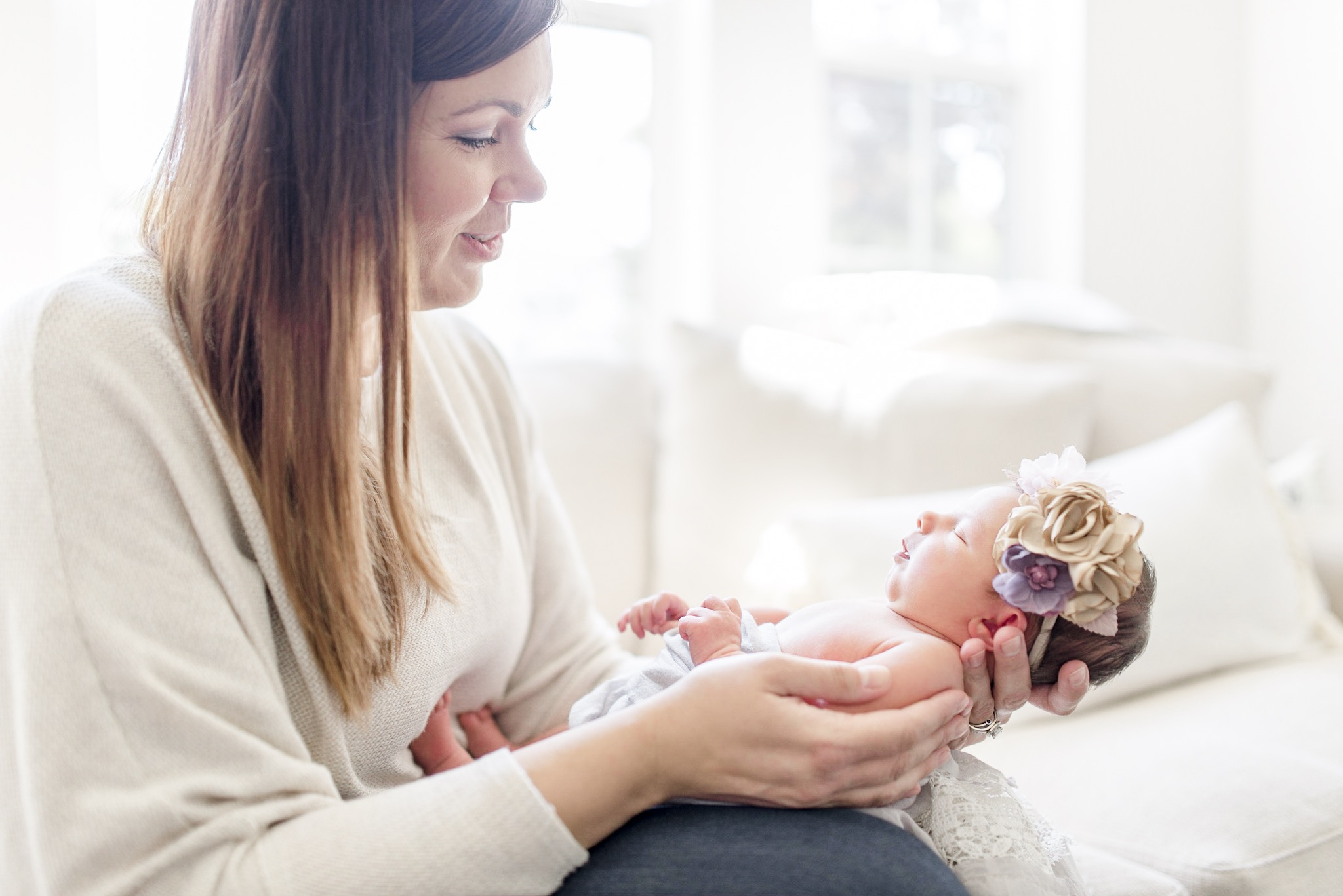 Lauren | Light & Airy Newborn Photography | Noblesville Photographer