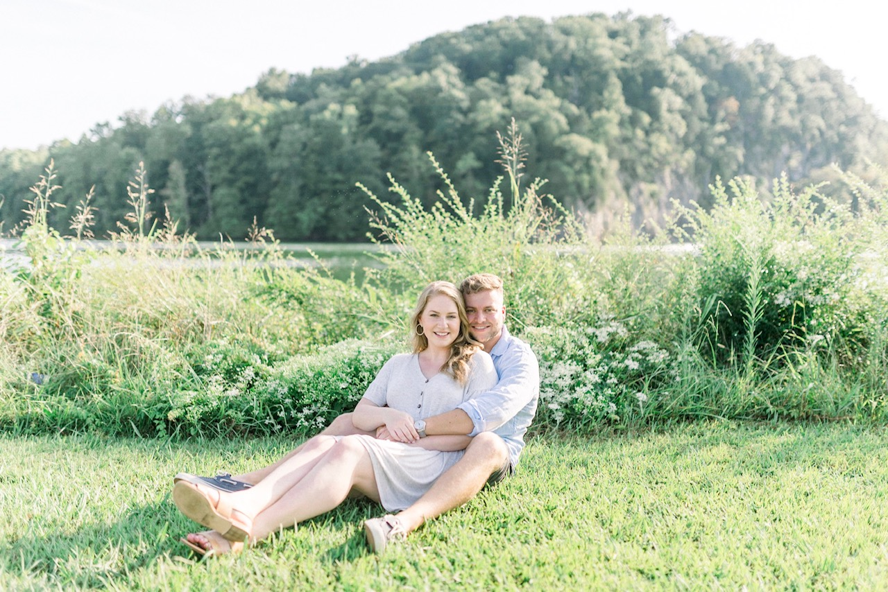 Morgan & Stephen | Romantic Destination Engagement Photography Session in Knoxville, TN | Indianapolis Wedding Photographers