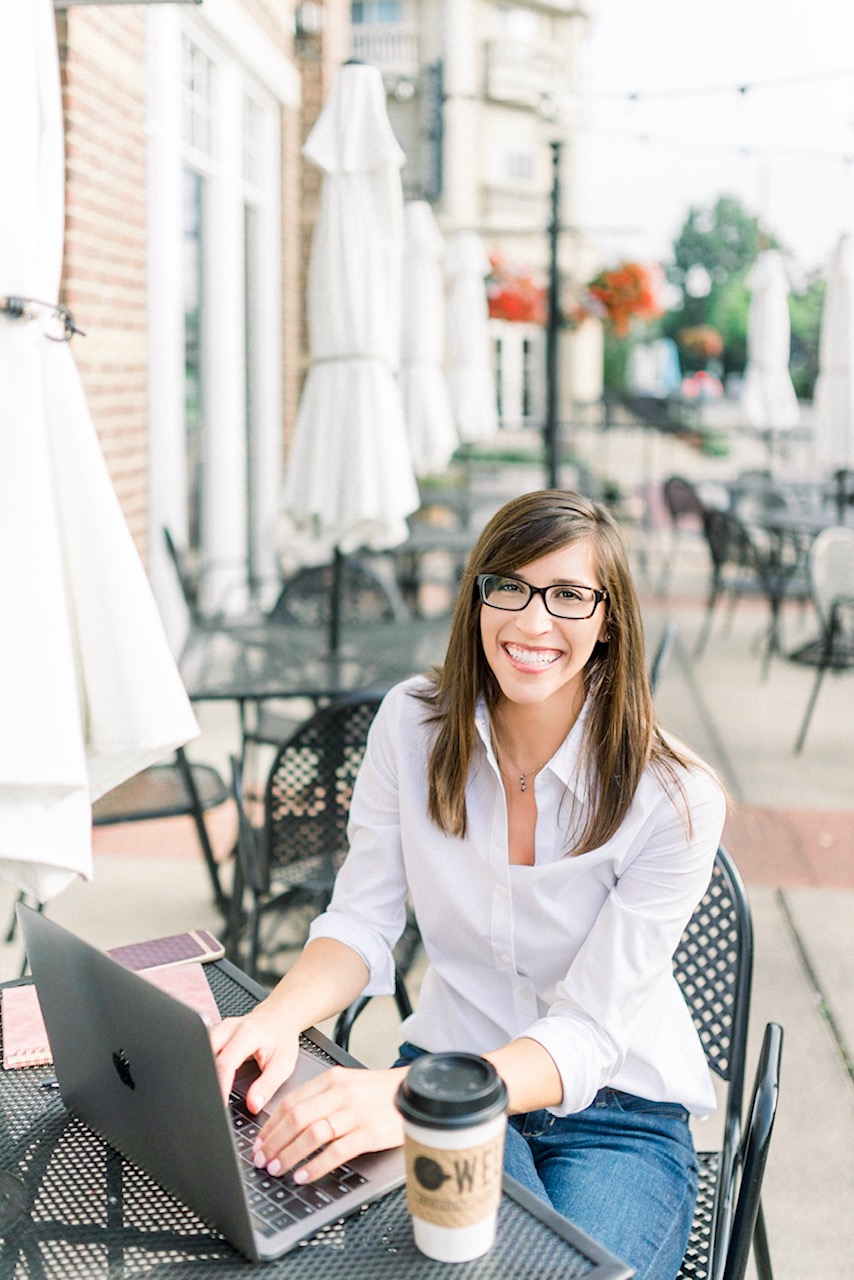 Kristen | Upscale Headshot Portrait Session in the Arts & Design District of Carmel, Indiana | Indianapolis Photographer