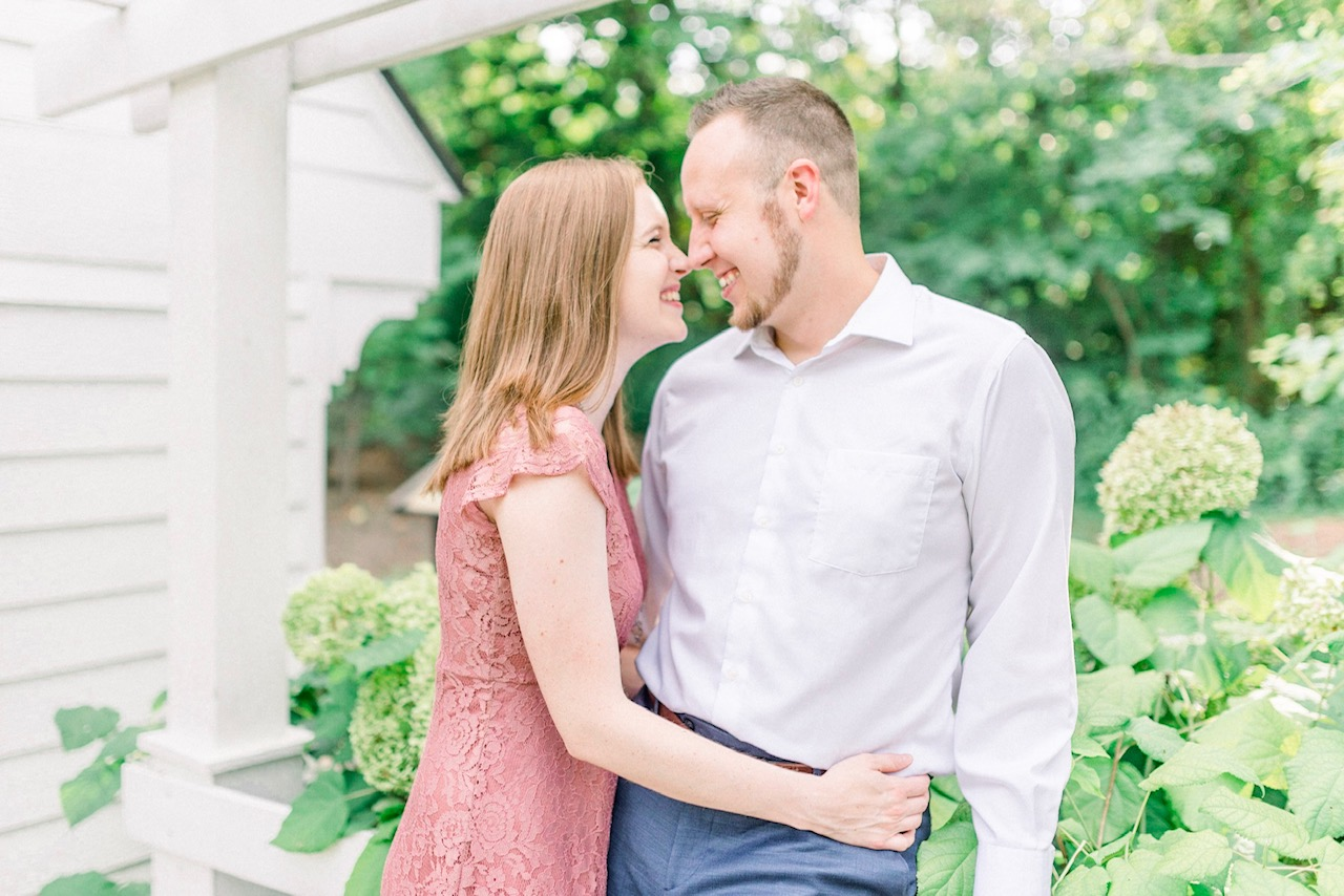 Missy & Alex | Relaxed and Carefree Engagement Photography in Carmel | Indianapolis Wedding Photographers