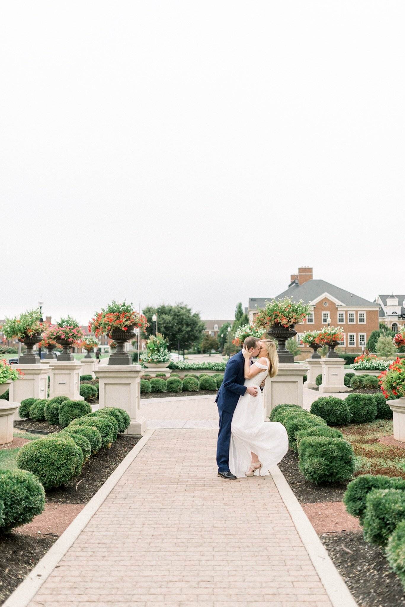 Bethany & Alex | Upscale and Romantic Engagement in the Rain | Carmel Palladium - Center for the Performing Arts | Indianapolis Wedding Photographers
