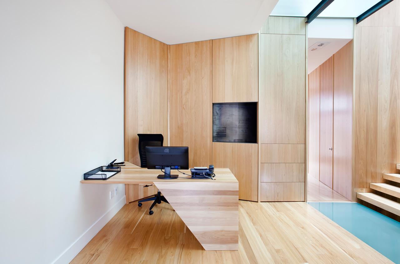 Conception:   P  aul Bernier architecte   Fabrication: Gepetto  Photo: Drew Hadley