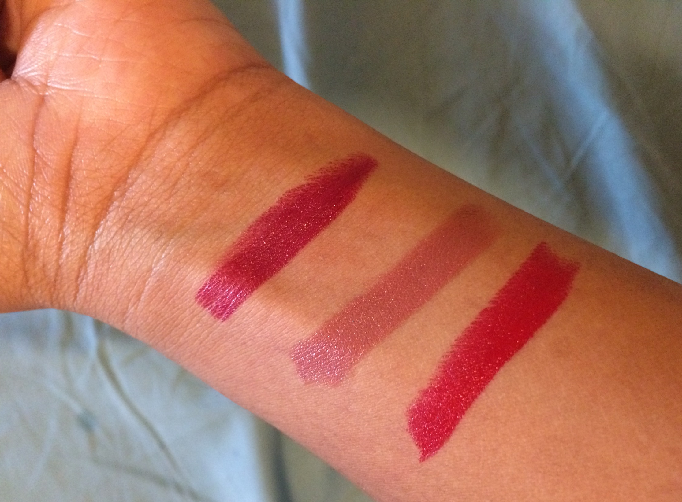 Left to Right: BeetRoot, Pepper, Gazpacho