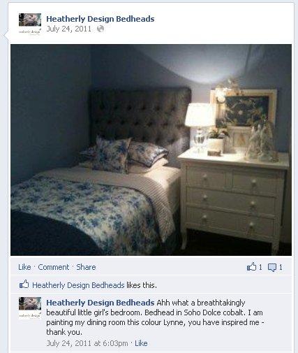 Lynne Bradley Interiors / Heatherly Design Bedheads