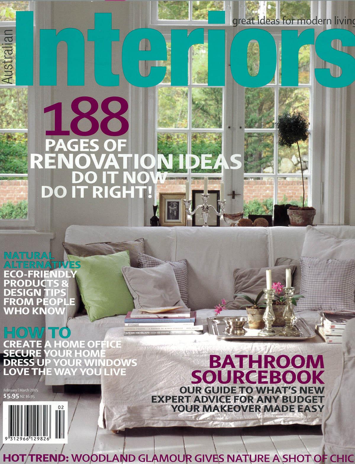 Lynne Bradley Interiors featured in Australian Interiors